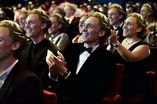 weaponizedwit:  brittaniethekid:  #oh look it's a photo of tom from the bafta— MOTHERFUCK WHAT IS HAPPENING