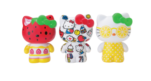 2012 Hello Kitty Fun Pattern Vinyl Figures