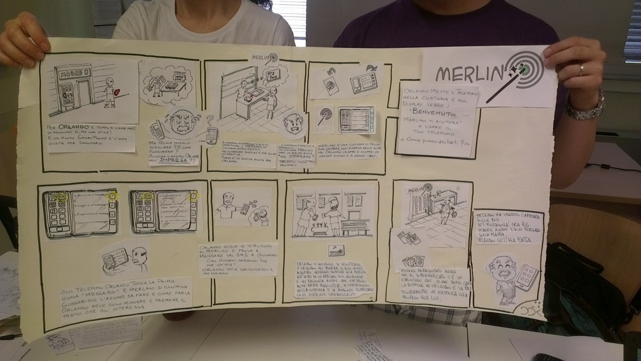 Storybording and mental models @MasterUX