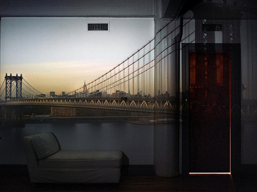 Abelardo MorellCamera Obscura: View of Manhattan BridgeApril 20th / Afternoon