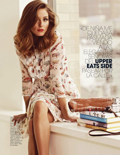 Olivia Palermo photographed by Andrew Yee for Marie Claire Spain 2012
