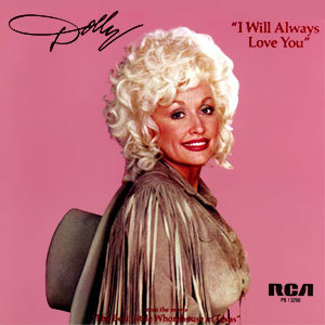THIS DAY IN MUSIC…   1974, Dolly Parton was at No.1 on the US country chart with 'I Will Always Love You'. Elvis Presley indicated that he wanted to cover the song. Parton was interested until Presley's manager, Colonel Tom Parker, told her that it was standard procedure for the songwriter to sign over half of the publishing rights to any song Elvis recorded. Parton refused. 'I Will Always Love You' later became a worldwide No.1 hit for Whitney Houston in 1992 when featured in The Bodyguard.