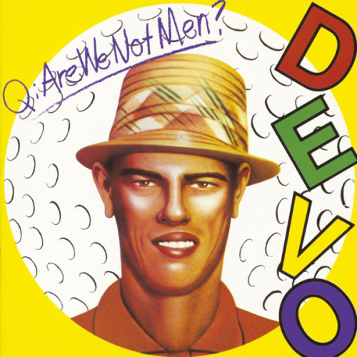 CLASSIC ALBUM, Q: ARE WE NOT MEN? A: WE ARE DEVO!, DEVO  They came from Akron, Ohio, wore matching jumpsuits and had a sinister theory of devolution. Their debut album runs on rubber-punk guitars and even more sinister mechanized new wave beats.