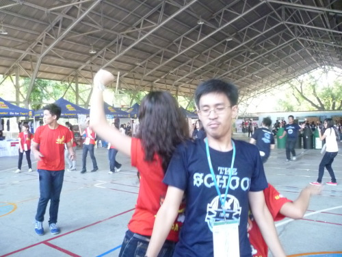 Pacific Ring Of Fire!! One of my favorite Orsem dances! And oh, my friends are doing it.
