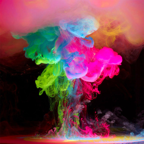 Aqueous Electro: Underwater Ink by Mark Mawson