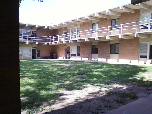 My ghetto band camp dorms… Less than a month away 💙