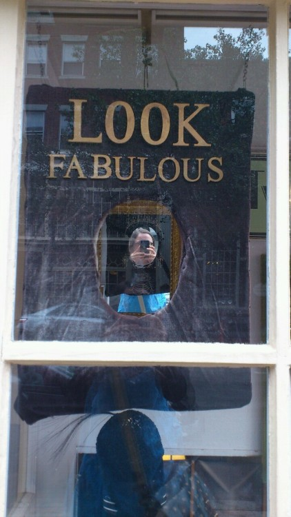 Look fabulous!