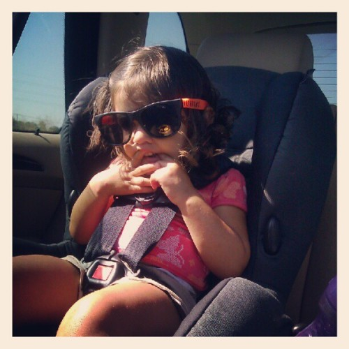 Too cool for these shades (Taken with Instagram)