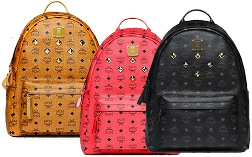 MCM Cognac Visetos backpack