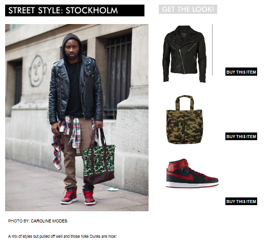 SHOP THE LOOK! Straight from the streets of STOCKHOLM ! Love the Jordans! http://bit.ly/LrTdK2