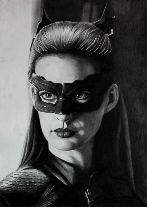 Anne Hathaway Catwoman - by donchild