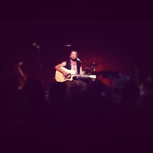 @XavierRudd at @TheHotelCafe last night. His performance of #SpiritBird was amazing!  (Taken with Instagram)
