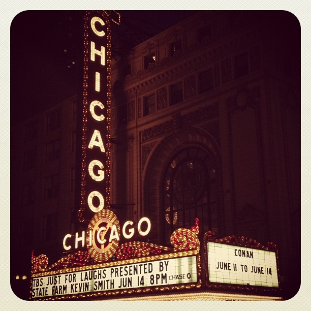 Chicago Theater #chicoco #conanobrien (Taken with Instagram at Chicago Theatre)