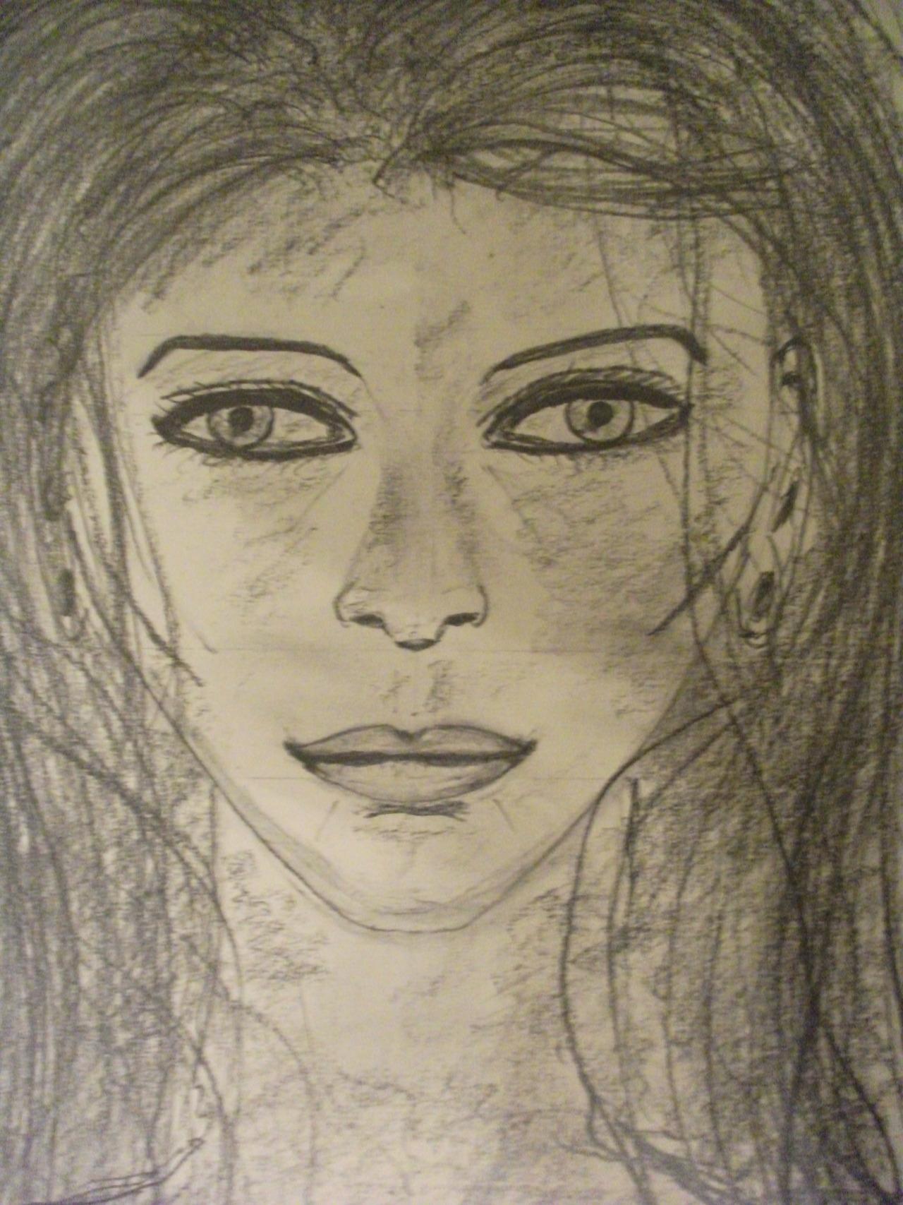 Xana (#4 Study) Graphite on Paper, 30cm x 42cm by Steven de Ciantis, 2012