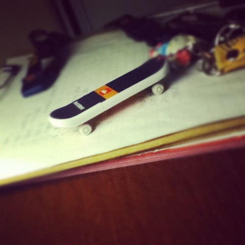 USB skateboard! (Taken with Instagram)