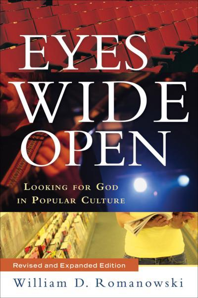 "Eyes Wide Open: Looking for God in Popular Culture, by William D. Romanowski, 2007. I have read quite a few books on pop culture and Christianity and, in most cases, I have found their argumentation to be too simplistic in one area or another.  This, however, is not the case with Romanowski's book.  He sets out to seriously handle the complexities of pop culture and the complexities of the Christian's interaction with pop culture.  The first part of the book is an introduction to the landscape how pop culture works and Christianity's often complicated relationship with it throughout history.  The second part of the book deals with the defense of pop culture at art, distinctions on how critics have approached the subject and showing the false dichotomy between low and high art.  The final section of the book deals with the development of a purely Christian critique and appreciation for pop culture.  In this section, Romanowski presents various elements of pop culture in America and how the Christian, oftentimes unknowingly,assimilates their views with non-biblical American views.  Some of these include the simplicity and flawed nature of the melodramatic in American pop culture, issues of sex and sexuality, gender and the issue of violence, which Christians tend to overlook as non-important.  I think the most effectual chapters in this book began with his argument that the distinction between high and low art is largely a cultural construction and that those who look down on low art, or pop culture, and embrace only ""high art"" are using it merely as a means of social status and a way to show the modernist program of human progress.  That somehow there is a path through high art that will lead man to a perfection in expression.  His point is not to downgrade the greatness of ""high art"" but to strip away the pretense that finds itself in those who reject pop culture as art.  I agree with this point.  I think human creations regardless of their populist or specific bent can point to the beauty of God's creative spark in all humanity.  They all show something of God, whether the artists believe or not.  For all men know their Creator, but some deny him, but not even they can totally divest themselves of those things that God gave them.  That would be the program of great futility to attempt that.  I found all of his chapters where he dissects American pop culture to be greatly helpful, especially the chapter on melodrama and violence.  For once I found, in words, what I have been on the edge of in my mind.  These overly simplistic and simple depictions of good and evil, happy endings, simple problems with simple solutions, all of which only give a hopeful idea of what the world should look like.  This would be alright if it was based on God's action as the Redeemer, but in American pop culture, the way the world should be is attained by recognizing our own abilities and some inner greatness with maybe just a little bit of magical help from the outside.  This is not the Christian conception.  Things are not that easy and simple in this world and our hope is not in ourselves but in our God.  To be honest in portrayals of the world, showing that we can't solve or fix everything ourselves and that, in the big picture, we have very little control over the actions and events of our lives.  This dependence on God and the ability to portray that sincerity and transparency in works of art in pop culture is truly rare these days.  At the same time, Romanowski's criticism of the Christian's view of violence come to the culmination in a story from a friend of his who worked at a video store.  A Christian mother came in and asked about a recent teen slasher flick, whether or not it had any sex or nudity in it.  The friend told her that it didn't have much of that but that there was graphic depictions of murder, slitting throats, stabbings, etc.  The mother's reply was ""That's fine, as long as it doesn't have sex in it.""  Romanowski's point is that Christians, in American society at least, pick and choose elements that they was to criticize when, in fact, every aspect of art should be under the lens of a Biblical understanding of man, God and the world.  This was an extremely well-written book and one that I think I will be going back to as I think more on this subject from time to time.  He never once gave in to cliche Christian responses or answers to criticism or overly-generalized understandings of pop culture.  He knew and loved the subject and the reader can tell.  One of the blurbs on the back said this book was in the same vein as Lewis and Schaeffer, however, I would be comfortable with the Lewis suggestion, it is plain to see that this books is levels above Schaeffer and his approach, which, over the years, I have found to be rather in-comprehensive and spotty at best."