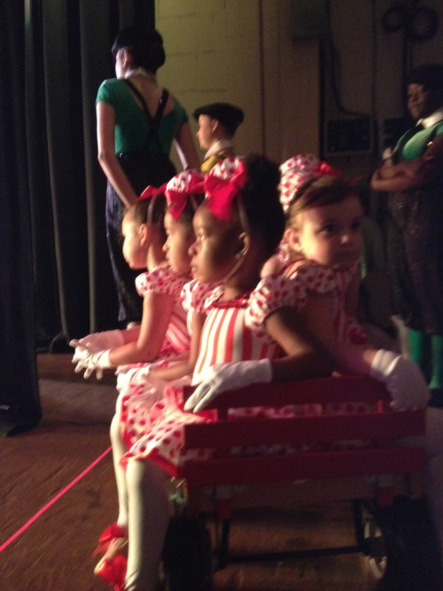 This. Is a wagon full of little cuties. They go out on stage like this. We are all losing our shit over how good they actually are. I can't.  DAMMIT AUTOCORRECT.