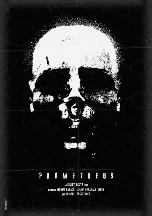 danielnorris:  Prometheus by Daniel Norris - @DanKNorris on Twitter.  Argh! I still haven't seen this.