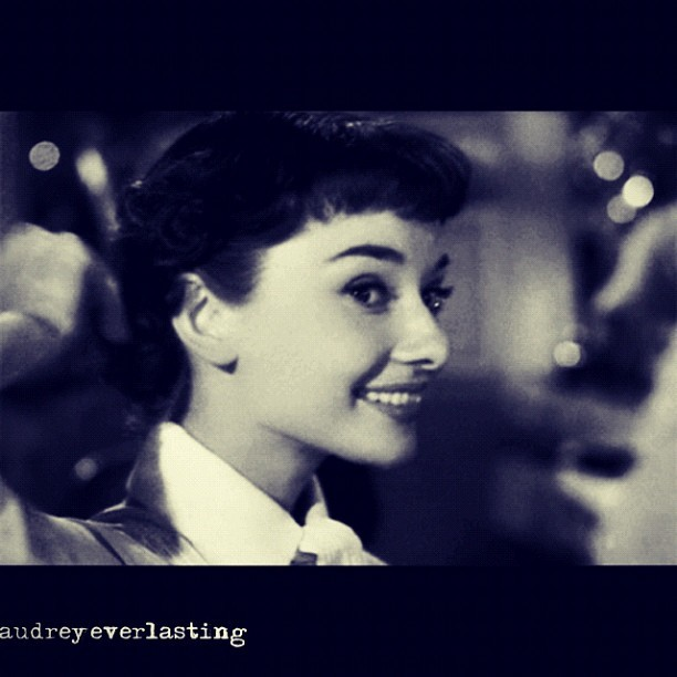 #audrey #hepburn #audreyhepburn #audreyeverlasting #film #movie #classic #cute #actress #model #pretty #beautiful #cute #vintage #cinema #popular #follow #instagood #photography #love (Taken with Instagram)