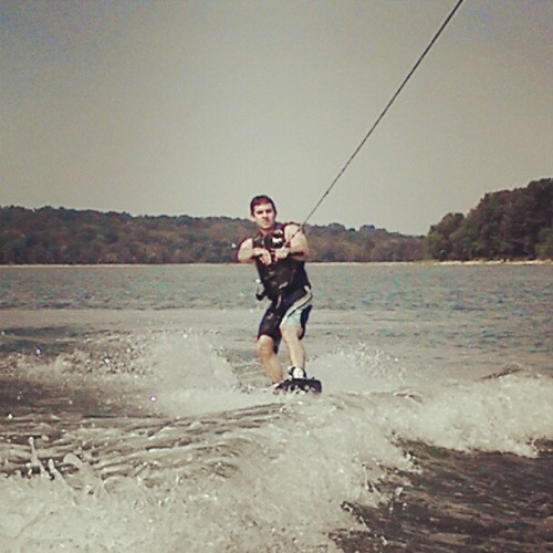 #wakeboarding (Taken with Instagram at Percy Priest)