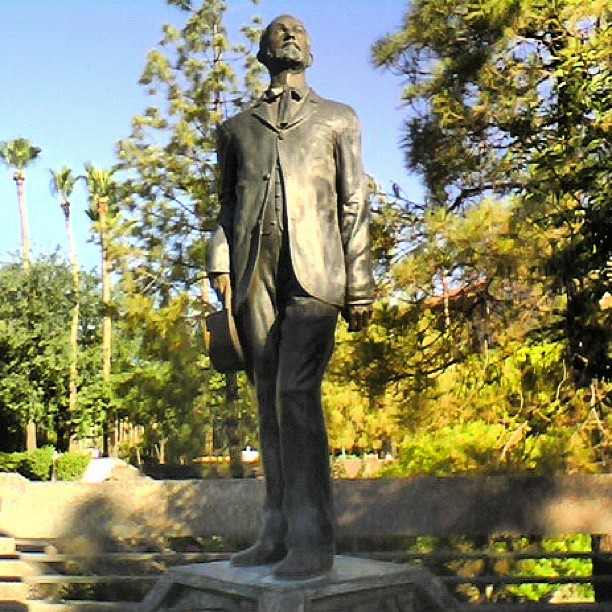 Charles Trumbull Hayden (April 4, 1825 – February 5, 1900) Founder of #Tempe #Arizona, #ArizonaState University, and Federal Judge #ASU  (Taken with Instagram)