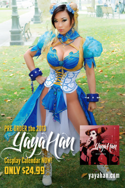 ultrathoughts:  Yaya Han is an UltraWoman. She is one of the best cosplayers I've seen.  Yummy. Chun Li.