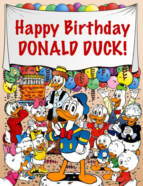 duckyeahducks:  Guess who's 78 today?