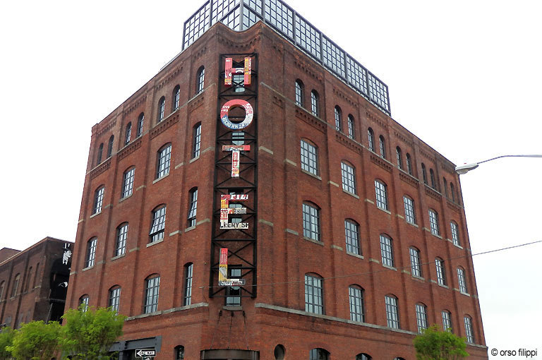 The Wythe Hotel in Williamsburg, Brooklyn, NY, a great new stylish hotel