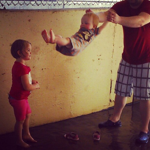 Fun with #daddy (Taken with Instagram)