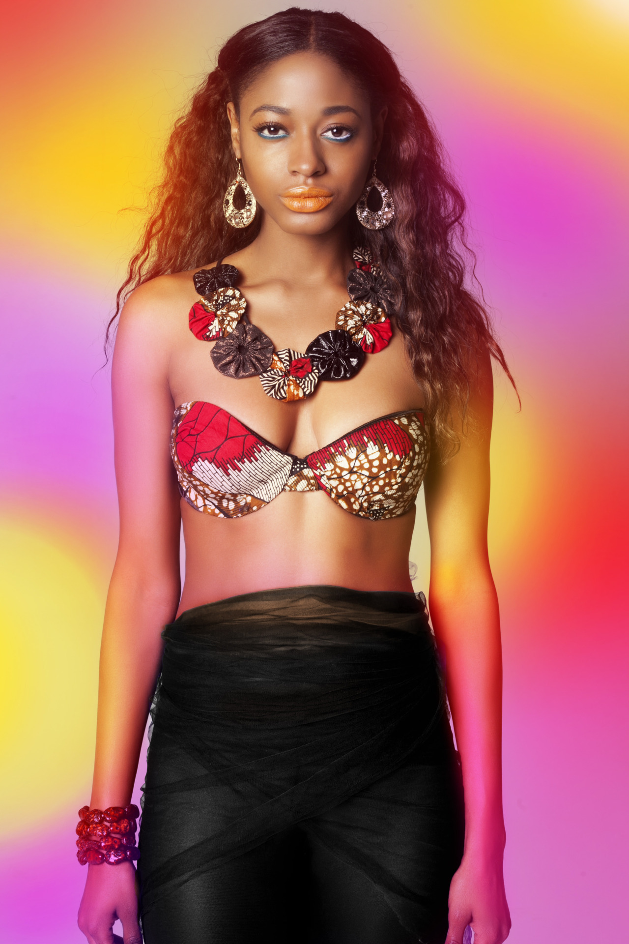 blackfashion:  FLASH SALE!!!! Shop  HVS Tribal Print Fancy Bra original price $85.99 Now $60.00 till Thursday  June 14th  + free shipping shop this deal @ www.bybukolaare.com