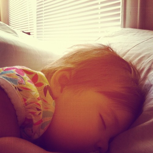 Sleeping beauty.  (Taken with Instagram)