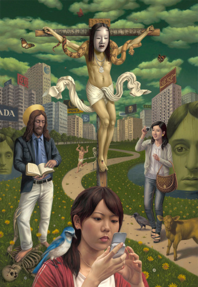 metalonmetalblog:  Alex Gross