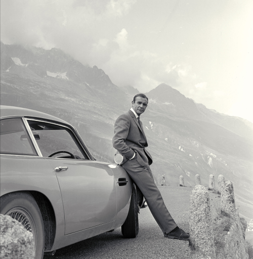 Sean Connery as Agent 007…the coolest James Bond period. Source: meetbarbican.com