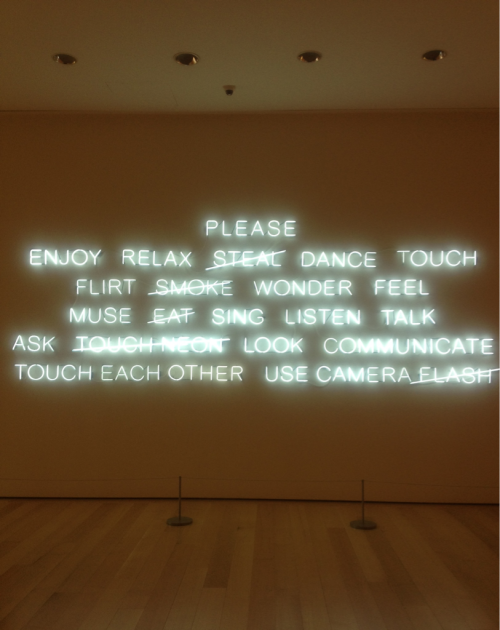 "designcloud:  Art Walls, ""Sparking Dialogue"" by Jeppe Hein"
