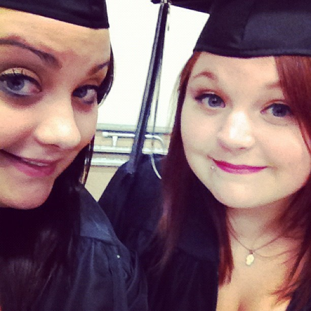 No one I'd rather be graduating with<3 (Taken with Instagram)