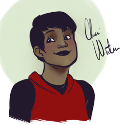 raumlet:  Here, Indie.  For YOOOOU.  Also, Cheri is one of my superheroes, and she is basically The Flash except a hippie who dropped out of college to fight crime with a motley crew of assholes. I need more practice with coloring PoC :///