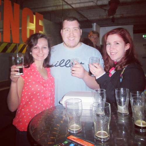 Free tasting at the Guinness storehouse tour! #ireland #studyabroad (Taken with Instagram)