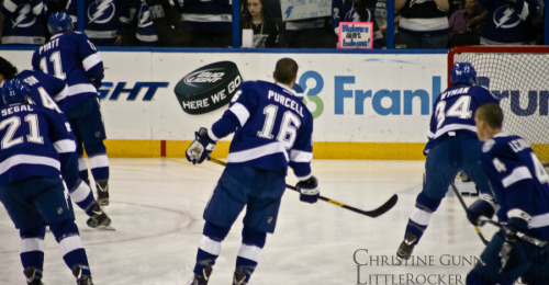 Tampa Bay Lightning Photo by Christine Gunn