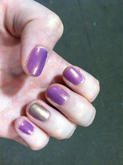 "closetospring:  headed to pride, and i am flagging a purple/gold duochrome for ""i am a princess"" and pure gold for ""treat me like a princess or i'll have you gored by unicorns"""