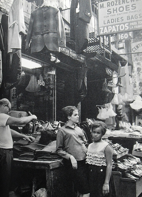 retronewyork:  New York City 1960s Garment Stores Lower East Side Vintage by Christian Montone on Flickr.