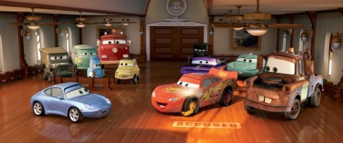 Cars, released June 9, 2006 Cars is the story of Lightning McQueen, a hotshot rookie race car driven to succeed. On the way to the big Piston Cup Championship in California, he finds himself detoured to the sleepy town of Radiator Springs.