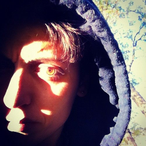 Someone said I had green eyes, maybe that's true (Taken with Instagram at Under Horse Chestnut)