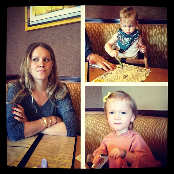 Lunch Date with these three (Taken with Instagram)