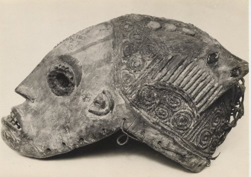 centuriespast:  Picture of the Igbo maiden mask called AGBHOGHO MMANWU Made in Niger Delta, circa 1880 The British Museum