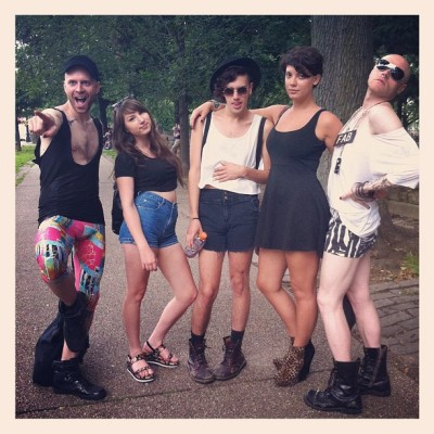 wearwithalvintage:  #pride #brooklyn (Taken with Instagram)  Brooklyn Pride