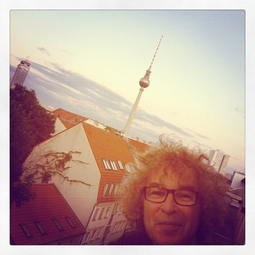 I just arrived back at the super cool Hotel Amano, Berlin.  Foto by Ineta. (Taken with Instagram)