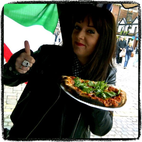 This is from the Jubilee weekend. I call this one 'I like Pizza'