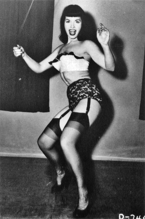 updownsmilefrown:  Miss Bettie Page