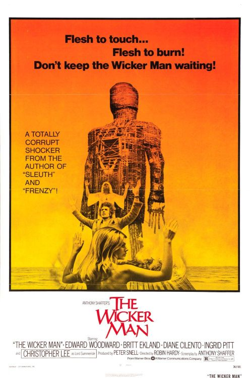 The Wicker Man (1973) Director: Robin Hardy Writer: Anthony Shaffer