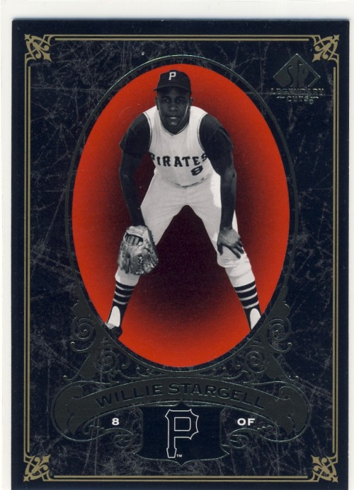 Willie Stargell, 2007 Upper Deck SP Legendary Cuts